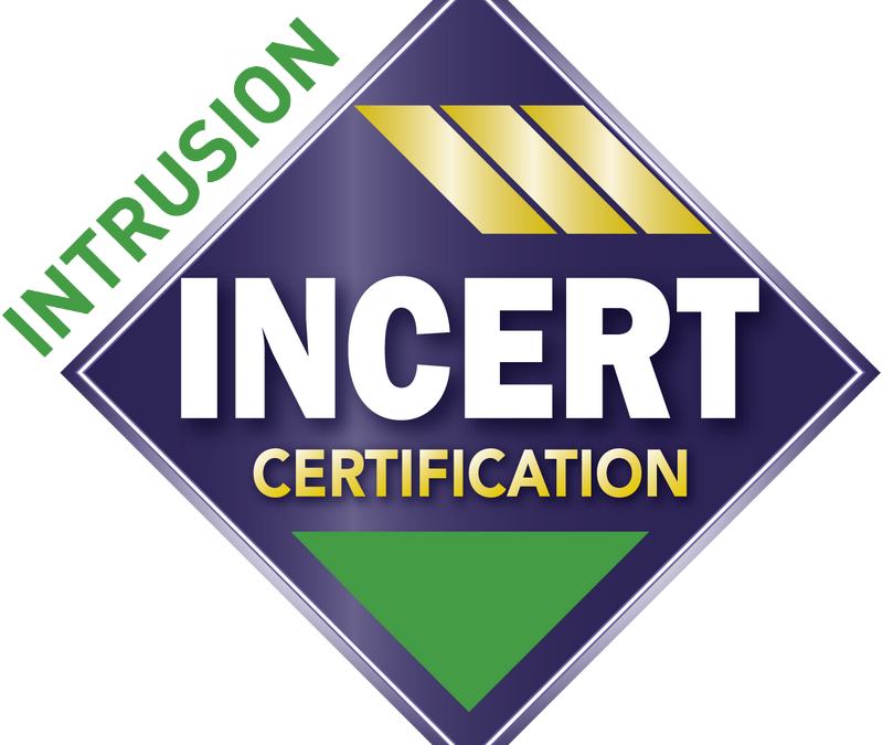 Intrusion Incert Certification